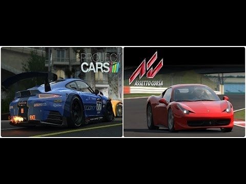 adi s project cars hola assetto corsa ps4 xbox one. Black Bedroom Furniture Sets. Home Design Ideas