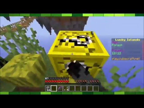 Minecraft! - Lucky Islands Cubecraft