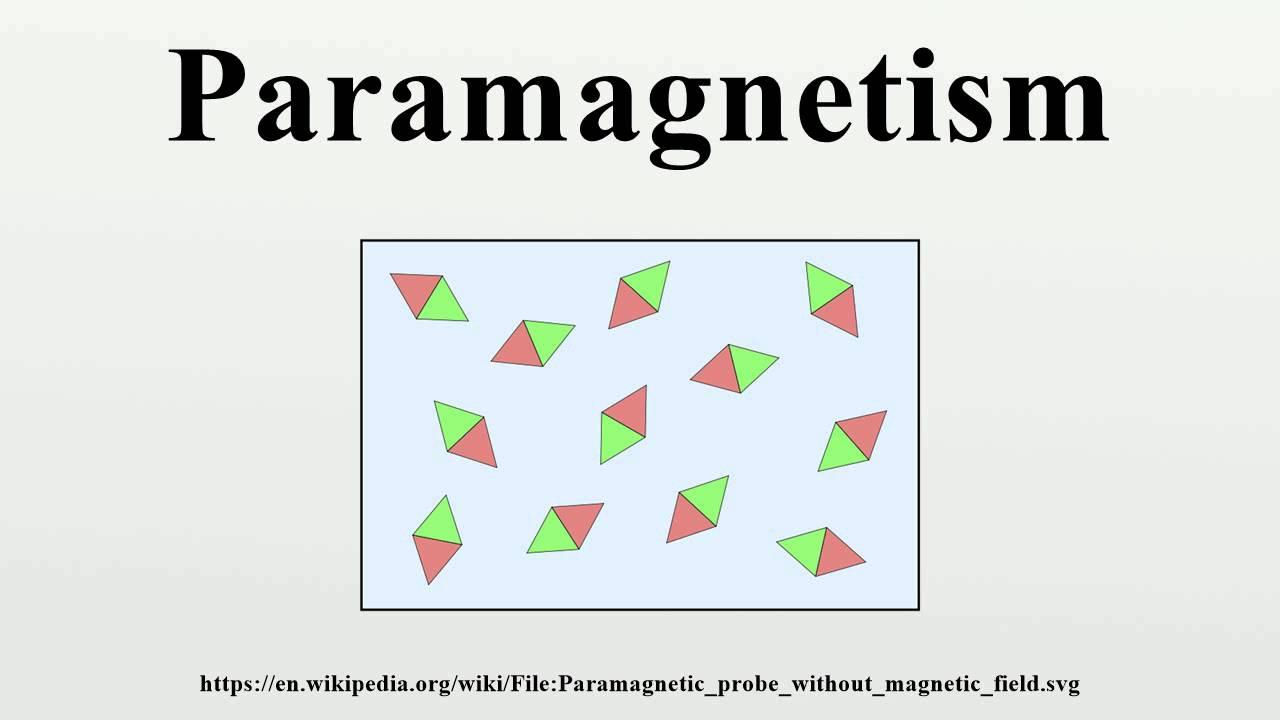 medium resolution of paramagnetic