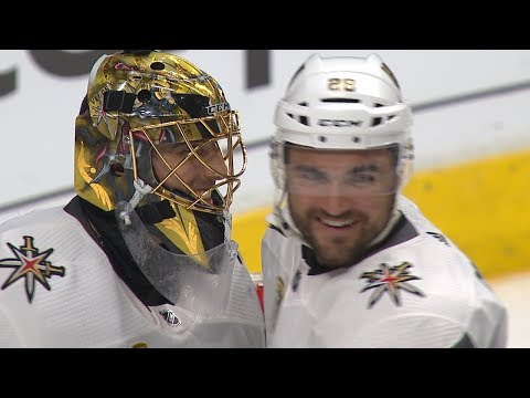 Flower shuts out Kings for Golden Knights sweep