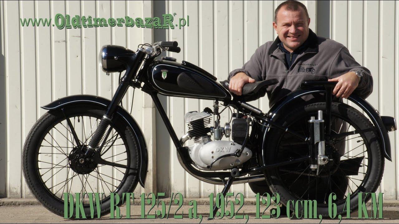 OldtimerbazaR ~ DKW RT 125 - opowiada Piotr Kawałek