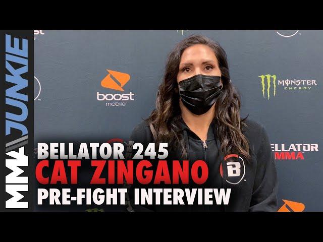 Cat Zingano: 'No hurt feelings' leaving UFC | Bellator 245 pre-fight interview