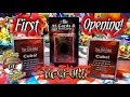 OUR FIRST EVER YUGIOH CARD OPENING! NEW MYSTERY CUBES & BOOSTER PACKS!
