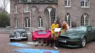 Sporting Bears Dream Rides cheque presentation to ABF 2009 at Cholmondeley Castle