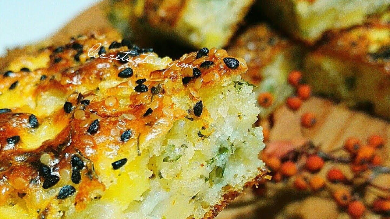 Patatesli kek tarifi-Börek tadinda cok kolay yapimi-Yemek Tarifleri
