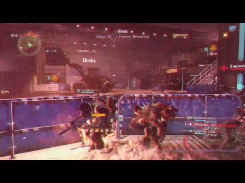 The division Livestream resistance high level hunter killing