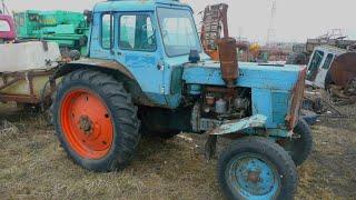 Беларусь-МТЗ-80-тупорылый пуск двух старых тракторов.(3 апреля 2014 года.Заводят два трактора МТЗ-80.На первом тракторе неделю назад поменяли пусковой двигатель..., 2014-04-04T05:39:27.000Z)