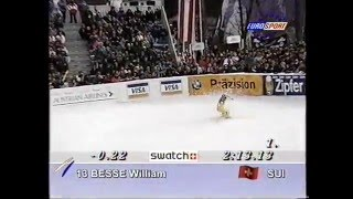 Luc Alphand wins sprint DH (Kitzbühel 1997)