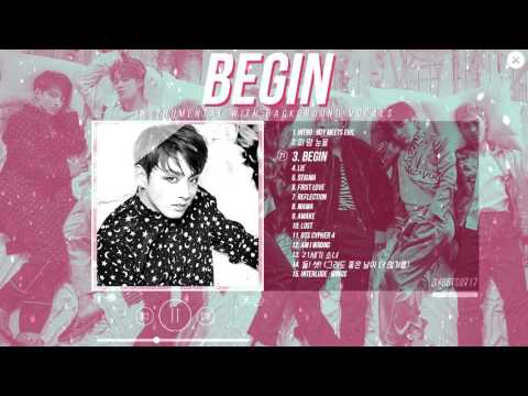 BTS (JungKook) - BEGIN [Instrumental w/ BG vocals]