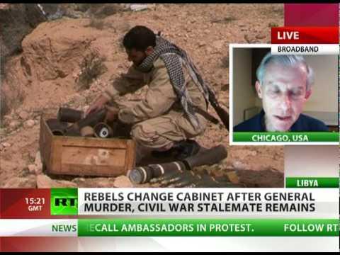 'Killing civilians part of NATO war strategy in Libya'