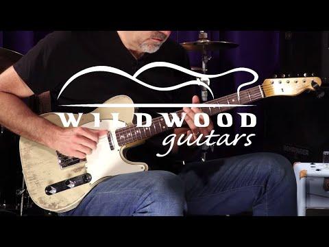 Fender Custom Shop Masterbuilt Wildwood 10 1962 Telecaster Custom by Greg Fessler  •  SN: R98669