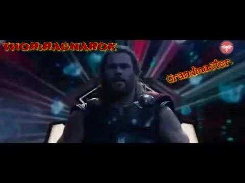 Thor Ragnarok- Thor meets Grandmaster in sakaar planet.