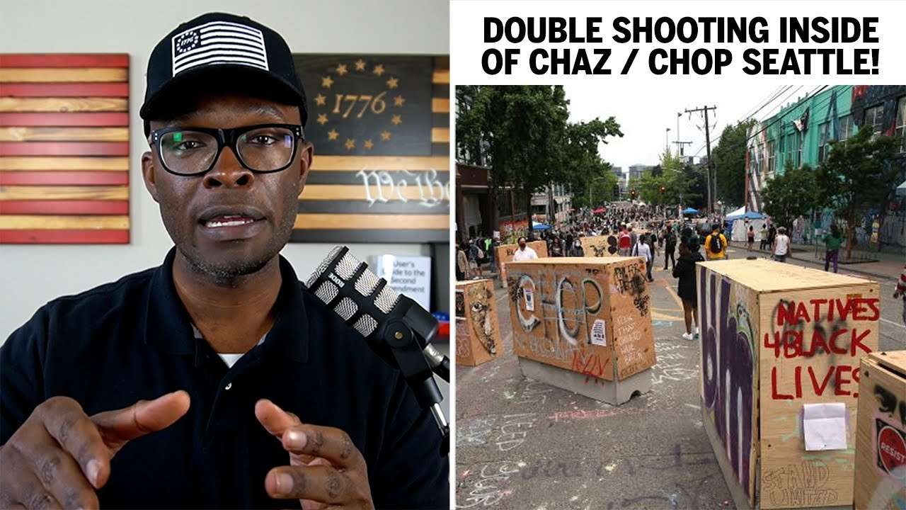 Black Man SHOT INSIDE of CHAZ / CHOP Seattle!