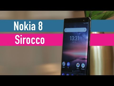 Nokia 8 Sirocco hands-on - MWC 2018