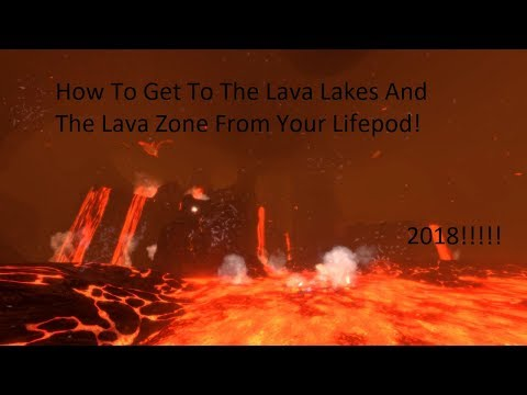How to find Lava Lakes / Lava Zone In Subnautica! | 2018 Full Release | Up To Date!