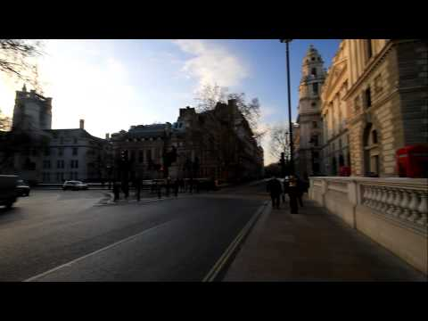 Palace of Westminster Big Ban Strikes London UK HD high quality Video