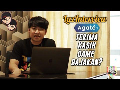 LAZINTERVIEW - AGATE (Game-Dev Terbesar Indonesia)  , Nasib Industri Game Indonesia, DLL