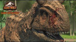 Science of the Strike: Carnotaurus | Jurassic World Camp Cretaceous