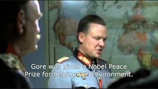 Hitler gets mad at Al Gore's global warming hypocrisy