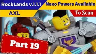 lego nexo knight axl android ios gameplay part 19 nexo power shield available to scan