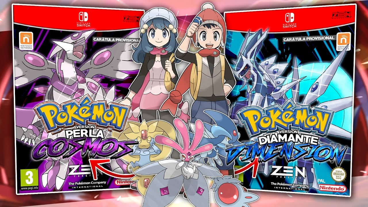 Remake pokemon diamante y perla opini n remakes de sinnoh diamante dimensi n perla cosmos - Pokemon rare diamant ...