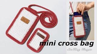 깔끔한 미니크로스백 뜨기/ crochet mini cr…