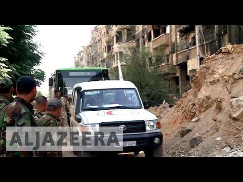 Syria: UN voices concern over Daraya evacuation deal