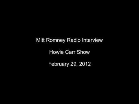 Mitt Romney on the Blunt Amendment