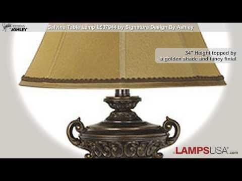 Ashley Salvina Table Lamp Set L507944