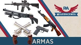 QUANTO CUSTA - ARMAS NOS ESTADOS UNIDOS