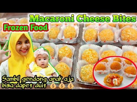 Ide Bisnis Macaroni Cheese Bites Frozen Food Youtube