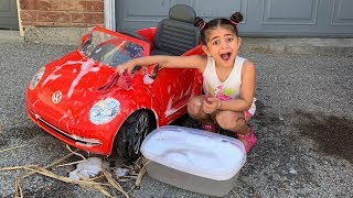 Car Wash Song! Nursery Rhymes songs for Kids with Sally