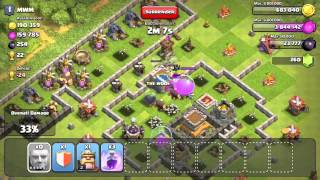 clash of clans all out level 5 giant raid th8