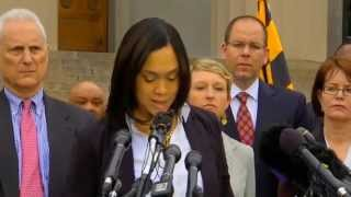 Marilyn Mosby Charges 6 Baltimore Police Officers in Death of Freddie Gray