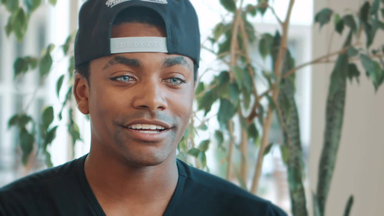 Online eye color changer - Actor Khalil Underwood Permanently Changes His Eye Color Bright Ocular Youtube