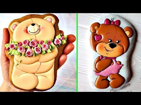 Amazing Cookies Art Decorating Compilation | Satisfying Cake Decorating Videos #65
