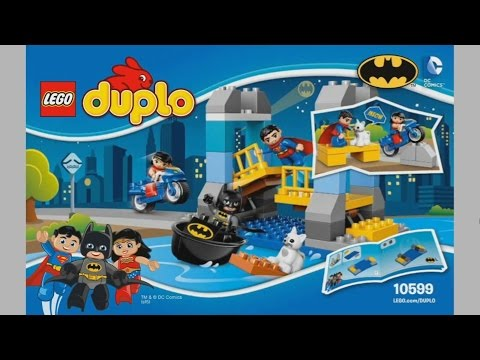 LEGO Duplo 10599 Batman Adventure - instruction timelapse - YouTube
