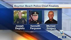 Boynton Beach city manager announces chief of police finalists
