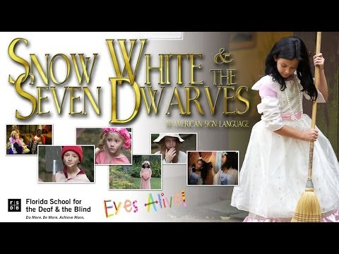 Snow White and the Seven Dwarves in ASL