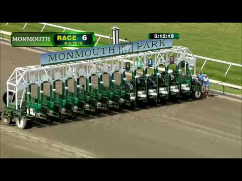 video thumbnail for MONMOUTH PARK 6-2-19 RACE 6
