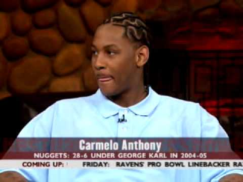 Carmelo Anthony interview in 2005 on the Best Damn Sports Show Period