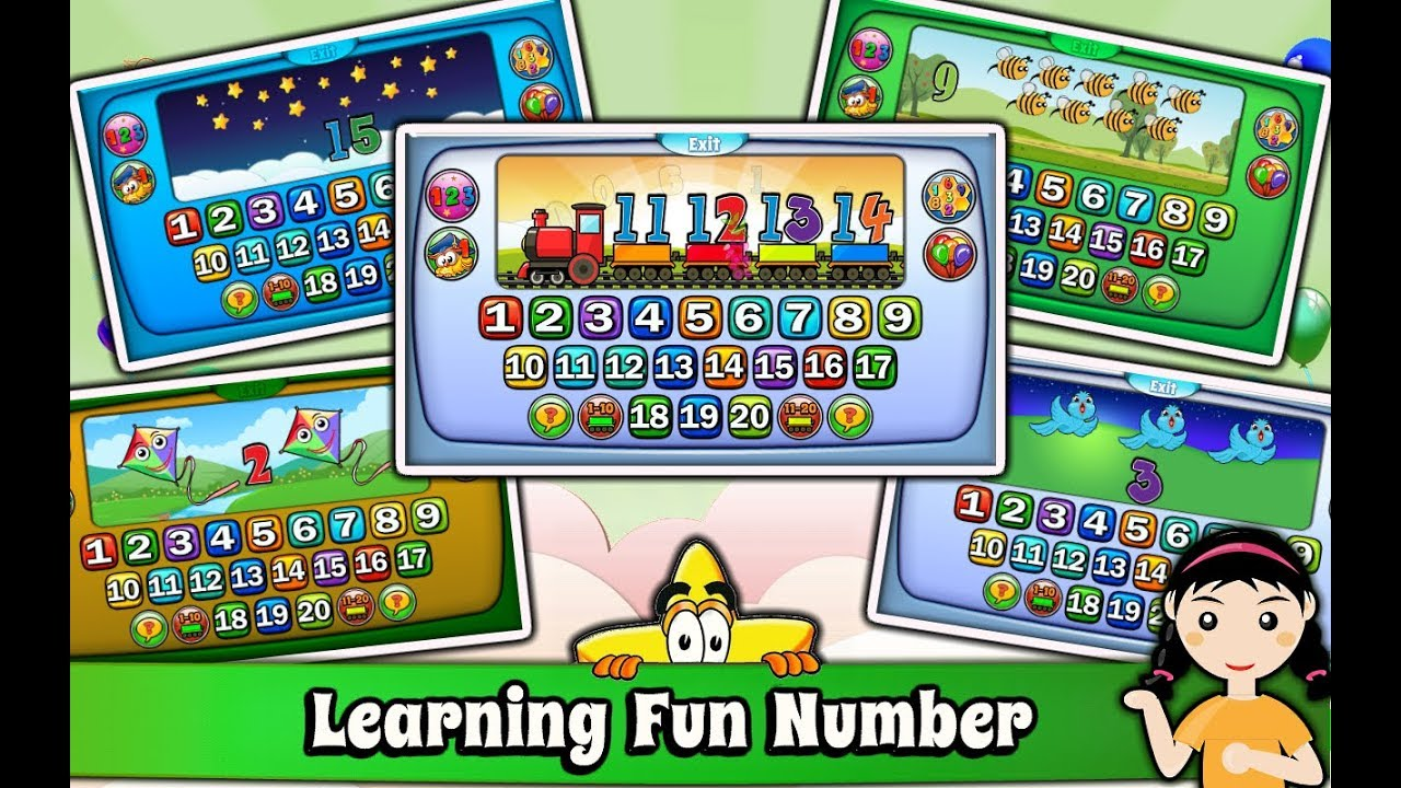 learn to count 1 20 numbers for children with animals best