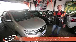 RENAULT LOGAN DYNAMIQUE 1.6 2014 TOP DE LINHA É AQUI NA ALDO'S CAR MULTIMARCAS