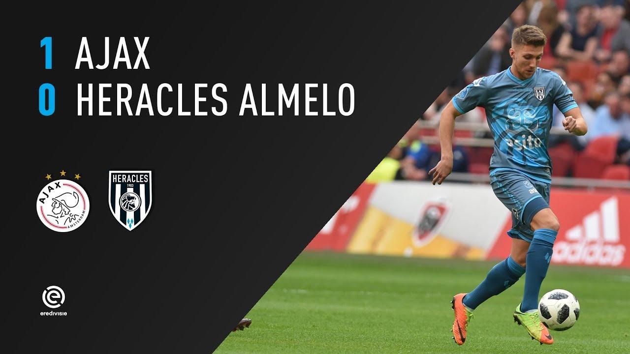 Ajax - Heracles Almelo 1-0 | 08-04-2018 | Samenvatting
