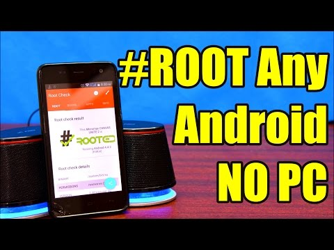 How to ROOT Any Android Device Without A Computer  One Touch Root (2016)