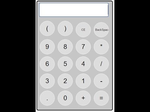 how to make calculator using Html, CSS and JavaScript part-1