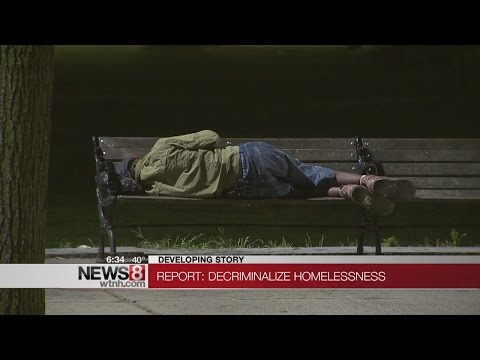 Yale Law School urging lawmakers to end criminalization of homeless in Connecticut