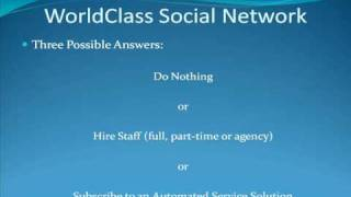 2) WorldClassID Social Networking Software Service 2