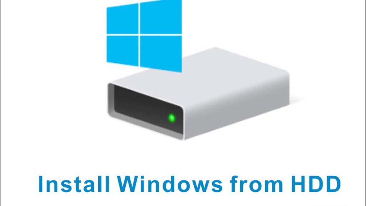 Cài đặt Windows 10-8-7 (cài Win) từ ổ cứng, không cần USB hay đĩa DVD