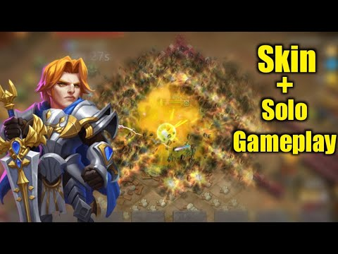 Wordless Zealot   Skin In Action   Solo Gameplay 😎  Dungeon/LBF/Raid   Castle Clash